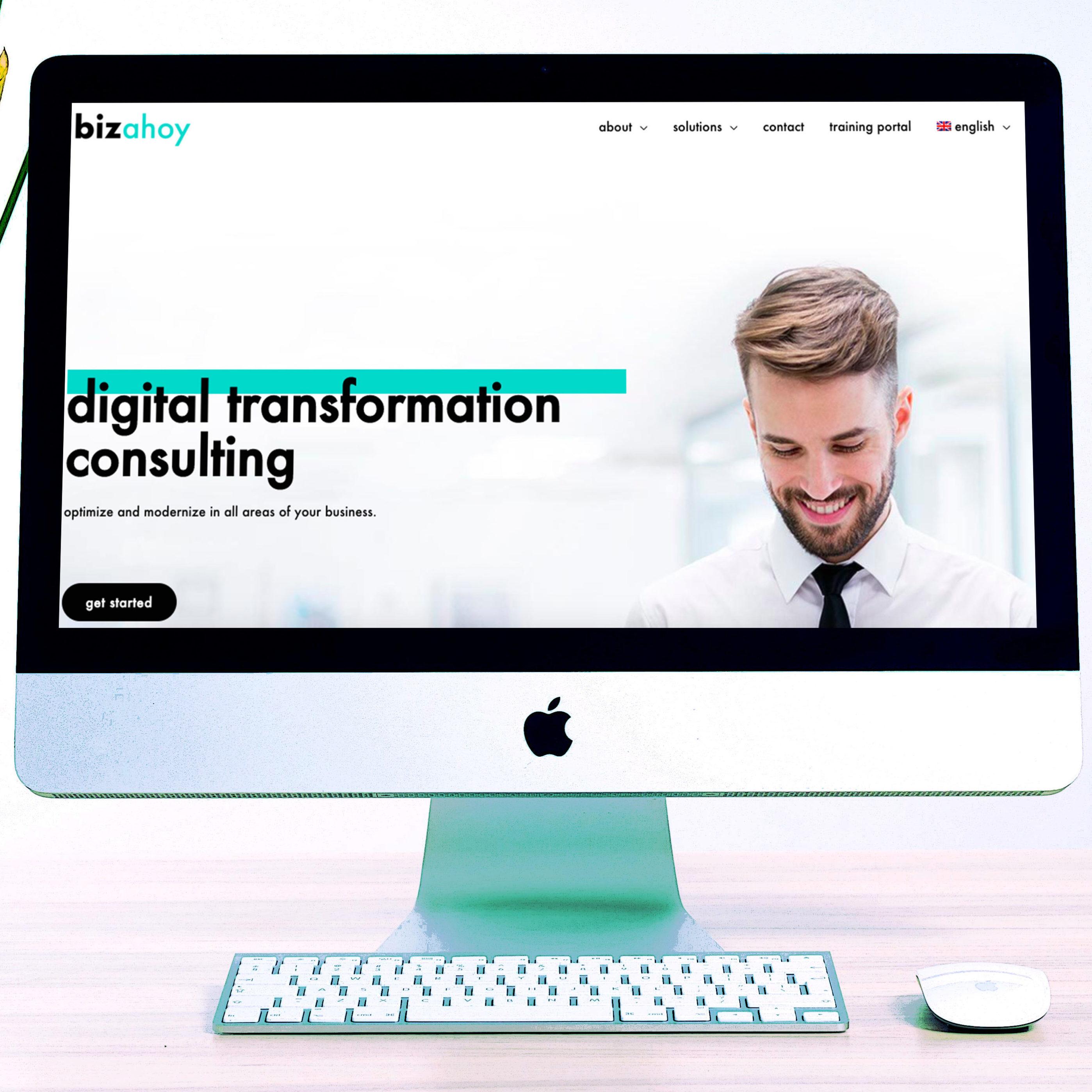 new professional website